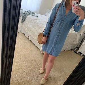 Abercrombie and Fitch Chambray dress